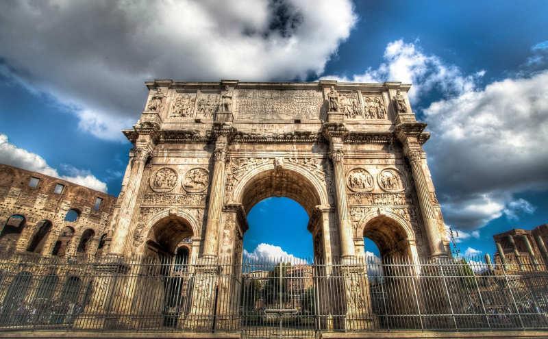 Arco de Constantino - cosas que ver en roma