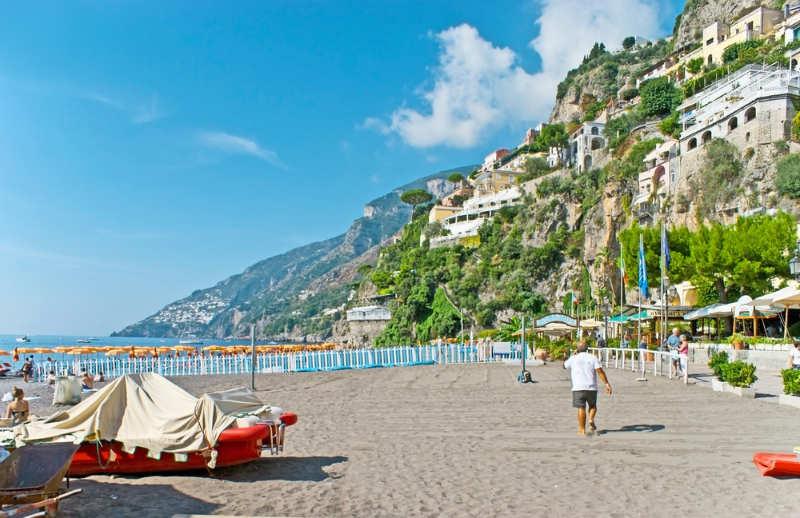 Playa Marina Grande - mejores playas en italia