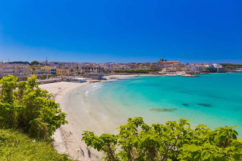 Playa Otranto - playas en italia