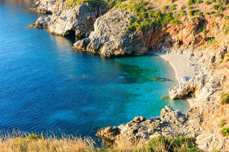 Playa Capreria - playas italia