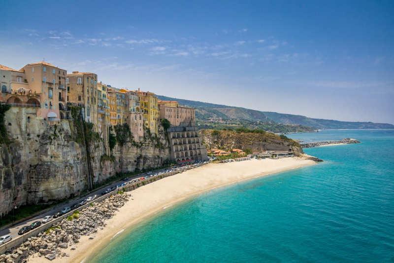 Playa Tropea - playas de italia
