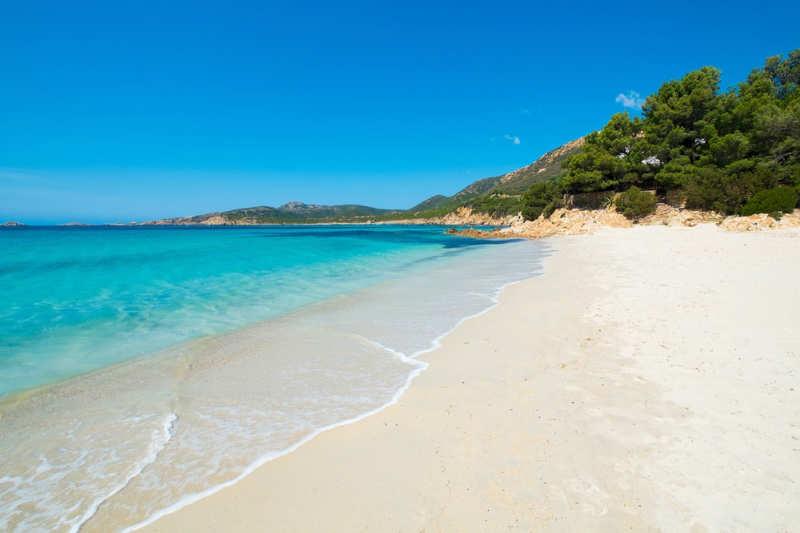 Spiaggia di Tuerredda - playas de italia
