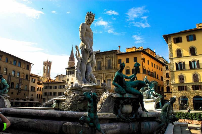 Piazza della Signoria - que hacer en florencia