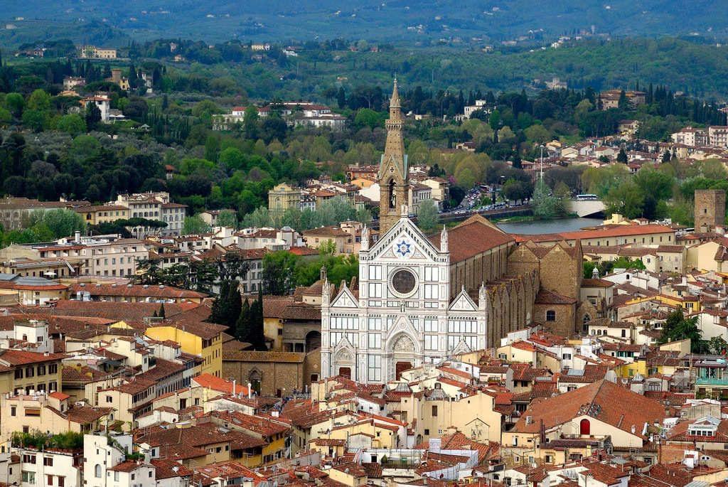 Basílica de santa croce - que visitar en florencia