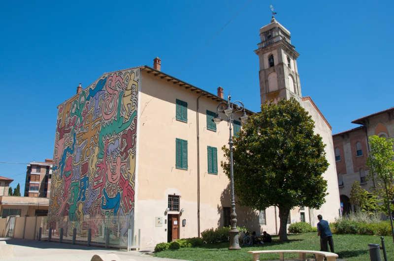 Keith Haring Mural - cosas que ver en pisa