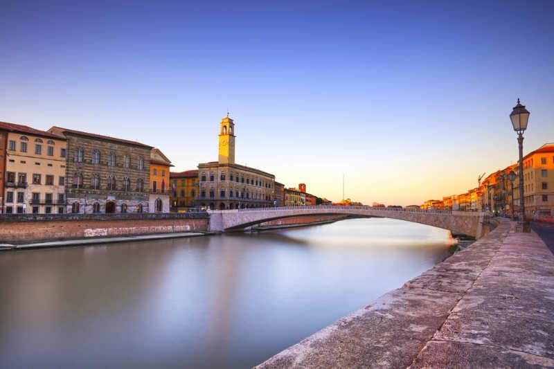 Ponte di Mezzo - que ver en pisa