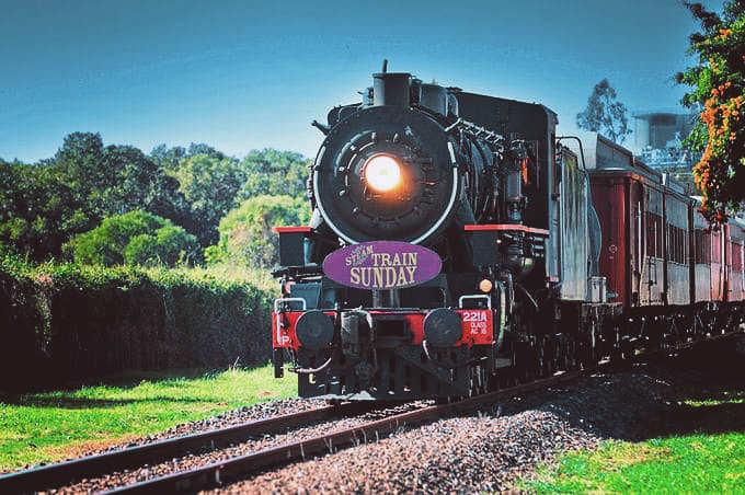 Steam-Train-Brisbane