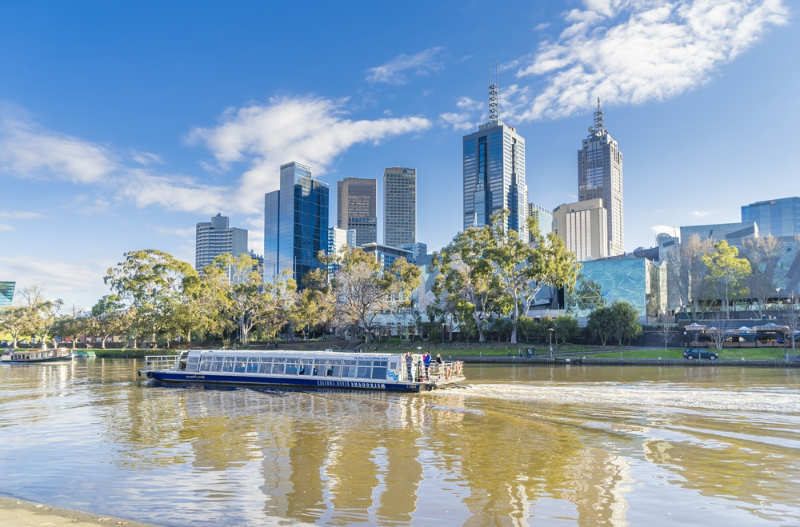 Crucero en rio Melbourne