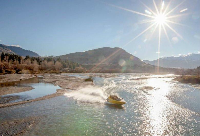 Jet Boating en el río Shotover