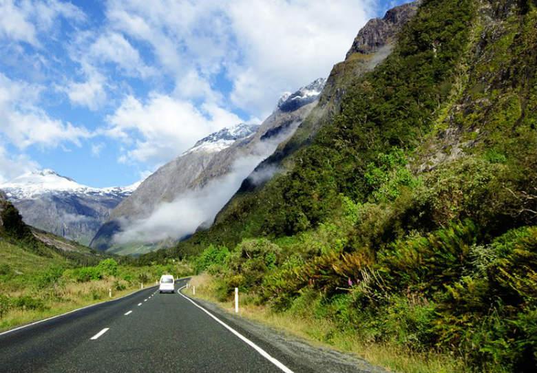 Cómo llegar a Fiordland