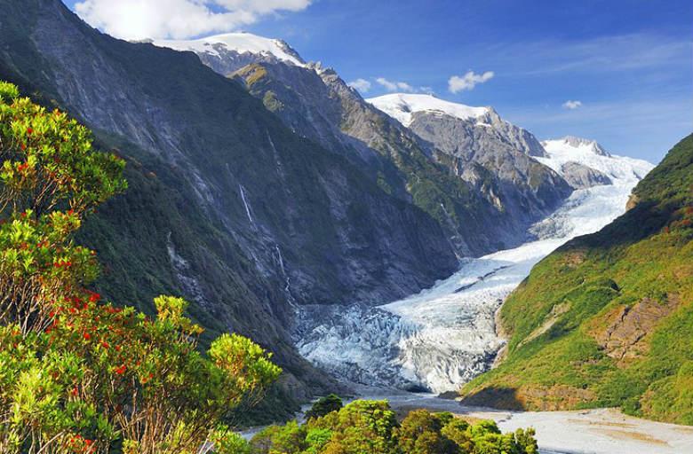 Fox y Franz Josef Glaciers, South Island