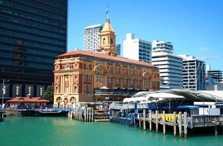 Auckland City Center Architecture