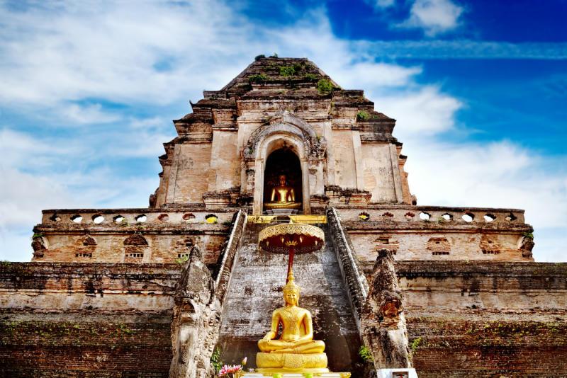 Ruinas de Wat Chedi Luang