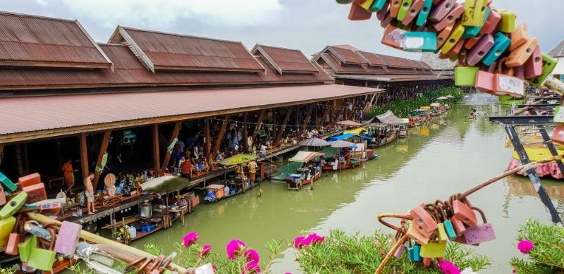 Mercado-Flotante-de-Ayutthaya
