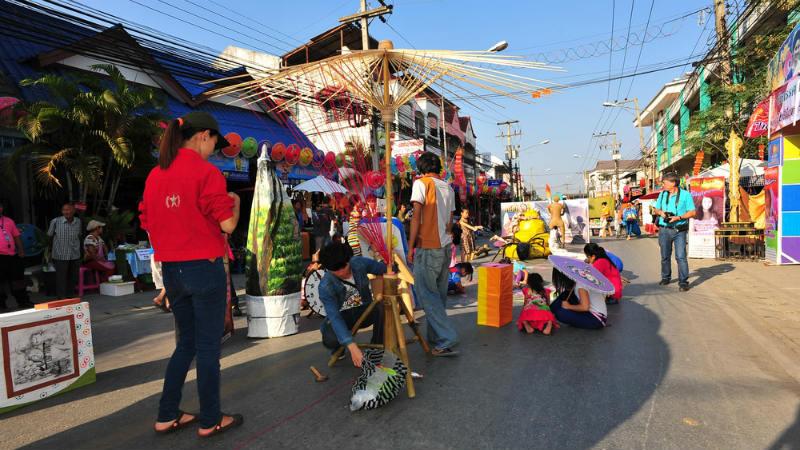 Calle San Kamphaeng