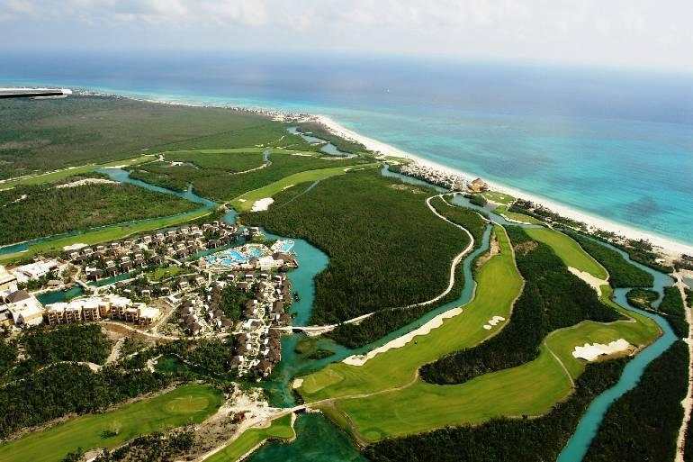 golf en playa del carmen