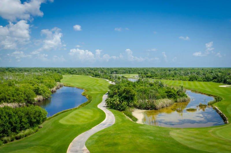 Golf en Cancún